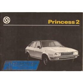 Austin Princess 2 Instructieboekje   Benzine Fabrikant 78 ongebruikt   Nederlands