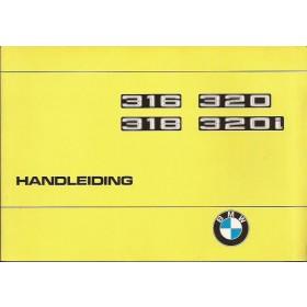 BMW 316/318/320 Instructieboekje  type E21 Benzine Fabrikant 77 ongebruikt   Nederlands