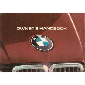 BMW 316/318/320/323 Instructieboekje  type E30 Benzine Fabrikant 83 met gebruikssporen vouw in kaft  Engels