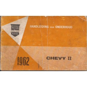 Chevrolet Alle Instructieboekje   Benzine Fabrikant 62 met gebruikssporen vouw in kaft  Nederlands
