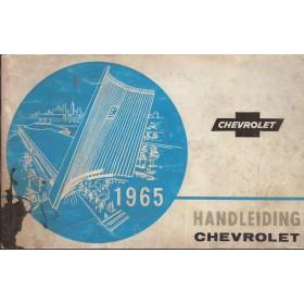 Chevrolet Alle Instructieboekje   Benzine Fabrikant 65 met gebruikssporen   Nederlands