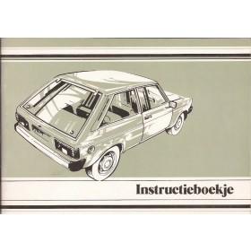 Chrysler Sunbeam Instructieboekje   Benzine Fabrikant 77 ongebruikt   Nederlands