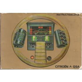 Citroen GSA Instructieboekje   Benzine Fabrikant 79 met gebruikssporen   Nederlands