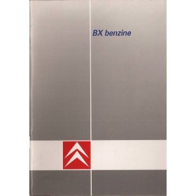 Citroen BX Instructieboekje   Benzine Fabrikant 88 ongebruikt   Nederlands