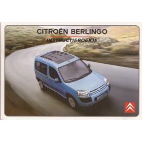 Citroen Berlingo VP Instructieboekje   Benzine/Diesel Fabrikant 02 ongebruikt   Nederlands