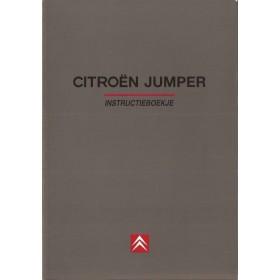 Citroen Jumper Instructieboekje   Benzine/Diesel Fabrikant 98 ongebruikt   Nederlands