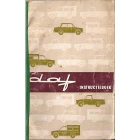DAF Daffodil Instructieboekje   Benzine Fabrikant 65 met gebruikssporen rug gerepareerd  Nederlands