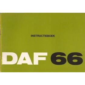 DAF 66 Instructieboekje   Benzine Fabrikant 72 ongebruikt   Nederlands