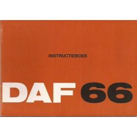 DAF 66 Instructieboekje   Benzine Fabrikant 73 ongebruikt   Nederlands