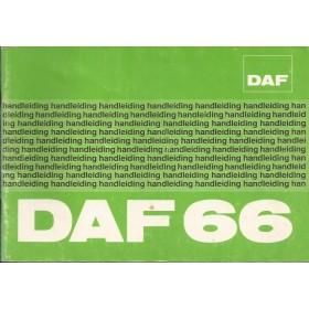 DAF 66 Instructieboekje   Benzine Fabrikant 74 ongebruikt   Nederlands