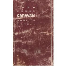 Dodge Caravan Instructieboekje   Benzine Fabrikant 90 met gebruikssporen   Engels