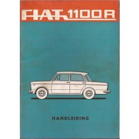 Fiat 1100R Instructieboekje   Benzine Fabrikant 67 ongebruikt   Nederlands