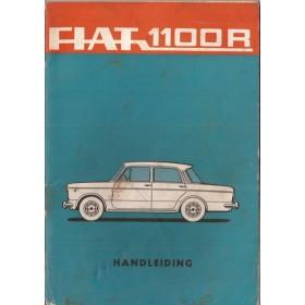 Fiat 1100R Instructieboekje   Benzine Fabrikant 67 met gebruikssporen   Nederlands