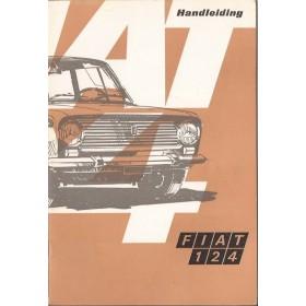 Fiat 124 Instructieboekje   Benzine Fabrikant 69 ongebruikt   Nederlands