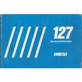 Fiat 127/Fiorino Instructieboekje   Benzine/Diesel Fabrikant 85 met gebruikssporen   Nederlands