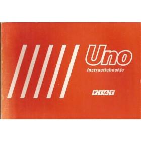 Fiat Uno Instructieboekje   Benzine Fabrikant 83 ongebruikt   Nederlands