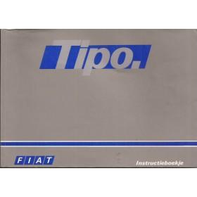 Fiat Tipo Instructieboekje   Benzine/Diesel Fabrikant 88 met gebruikssporen   Nederlands