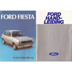 Ford Fiesta Instructieboekje  Mk1 Benzine Fabrikant 78 ongebruikt   Nederlands