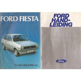Ford Fiesta Instructieboekje  Mk1 Benzine Fabrikant 78 met gebruikssporen notities op achterkaft  Nederlands