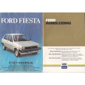 Ford Fiesta Instructieboekje  Mk1 Benzine Fabrikant 82 met gebruikssporen   Nederlands