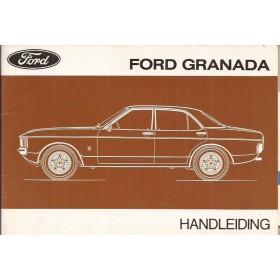 Ford Granada Instructieboekje   Benzine Fabrikant 76 ongebruikt   Nederlands