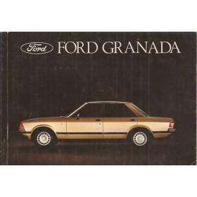 Ford Granada Instructieboekje   Benzine/Diesel Fabrikant 77 met gebruikssporen   Nederlands
