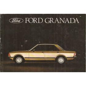 Ford Granada Instructieboekje   Benzine/Diesel Fabrikant 78 met gebruikssporen   Nederlands