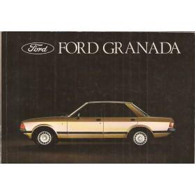 Ford Granada Instructieboekje   Benzine/Diesel Fabrikant 79 met gebruikssporen   Nederlands