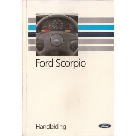 Ford Scorpio Instructieboekje   Benzine/Diesel Fabrikant 92 met gebruikssporen   Nederlands