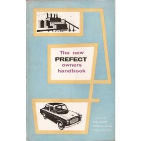 Ford Prefect Instructieboekje   Benzine Fabrikant 60 ongebruikt   Engels