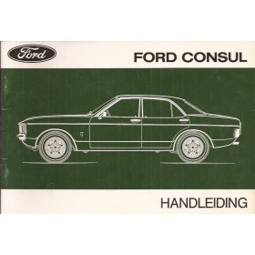 Ford Consul Instructieboekje   Benzine Fabrikant 73 ongebruikt   Nederlands
