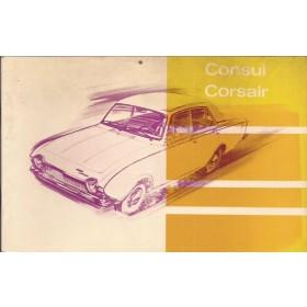 Ford Consul Corsair Instructieboekje   Benzine Fabrikant 63 ongebruikt   Nederlands