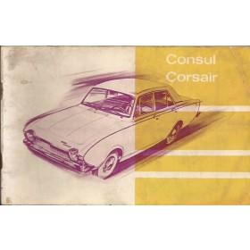 Ford Consul Corsair Instructieboekje   Benzine Fabrikant 64 met gebruikssporen   Nederlands