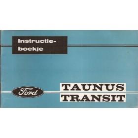 Ford Taunus Transit Instructieboekje   Benzine Fabrikant 65 ongebruikt   Nederlands