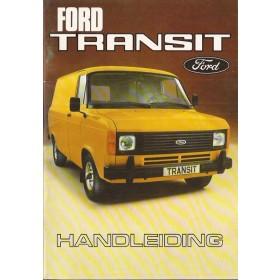 Ford Transit Instructieboekje   Benzine/Diesel Fabrikant 79 ongebruikt   Nederlands