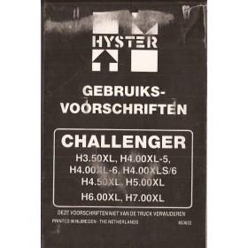 Hyster Challenger Instructieboekje   Benzine Fabrikant 88 met gebruikssporen   Nederlands
