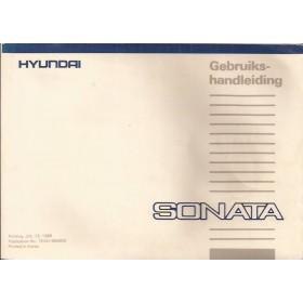 Hyundai Sonata Instructieboekje   Benzine Fabrikant 88 met gebruikssporen   Nederlands/Frans