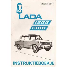 Lada 1200/1300 Instructieboekje   Benzine Fabrikant 72-88 met gebruikssporen   Nederlands
