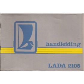 Lada 2105 Instructieboekje   Benzine Fabrikant 85 met gebruikssporen   Nederlands