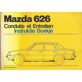 Mazda 626 Instructieboekje   Benzine Fabrikant 78 ongebruikt   Nederlands/Frans