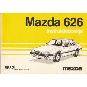 Mazda 626 Instructieboekje   Benzine Fabrikant 85 ongebruikt   Nederlands/Frans