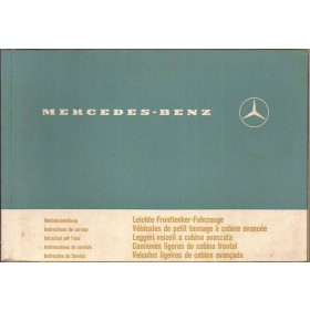 Mercedes-Benz Lichte Bedrijfswagens (314) Instructieboekje   Benzine Fabrikant 70 met gebruikssporen   Duits