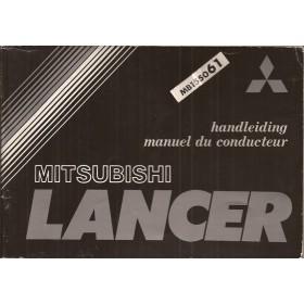 Mitsubishi Lancer Instructieboekje   Benzine Fabrikant 79 ongebruikt   Nederlands/Frans