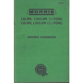 Morris LD.4M/LDO.4M/LD.5M/LDO.5M (1/1.5 ton Van) Instructieboekje   Benzine Fabrikant 60 ongebruikt   Engels