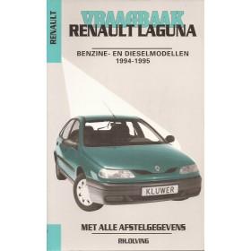 Renault Laguna Vraagbaak P. Olving  Benzine Kluwer 94-95 ongebruikt   Nederlands