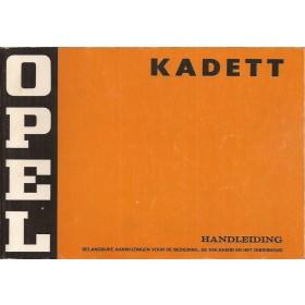 Opel Kadett C Instructieboekje   Benzine Fabrikant 74 ongebruikt   Nederlands
