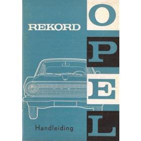 Opel Rekord A Instructieboekje   Benzine Fabrikant 63 ongebruikt   Nederlands