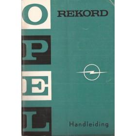 Opel Rekord B Instructieboekje   Benzine Fabrikant 68 ongebruikt   Nederlands