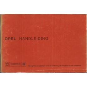 Opel Kadett C/Ascona B/Manta B/Rekord D Instructieboekje   Benzine Fabrikant 76 ongebruikt   Nederlands
