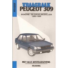 Peugeot 309 Vraagbaak P. Olyslager  Benzine/Diesel Kluwer 85-89 ongebruikt   Nederlands